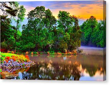 Tranquility  Canvas Print by Ken Beatty