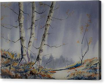 Canvas Print featuring the painting Tranquility by Rob Hemphill