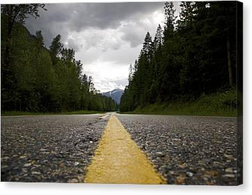 Trans Canada Highway Canvas Print
