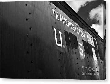 Transportation Corps Car Canvas Print