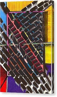 Transportation Hub Canvas Print by Al Goldfarb