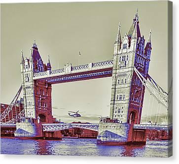 Travel James Bond Style Canvas Print