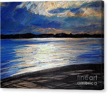 Traverse Bay Canvas Print by Lisa Dionne