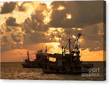 Trawlers  Canvas Print