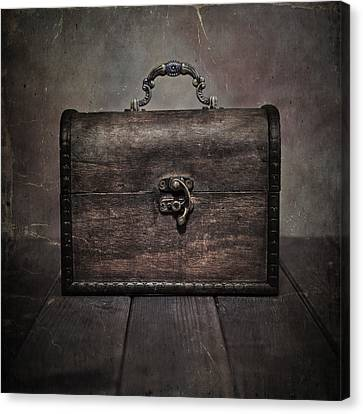 Wooden Box Canvas Print - Treasure by Joana Kruse