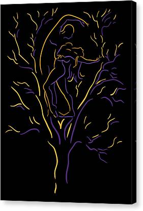 Tree Dancers Canvas Print by Shane Robinson