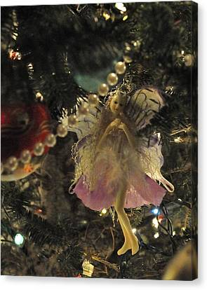 Tree Fairy Tfp Canvas Print by Jim Brage