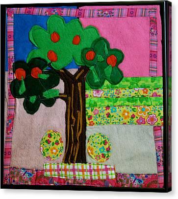 Tree Canvas Print by Ghazel Rashid