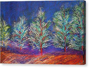 Tree Line Canvas Print by Karin Eisermann
