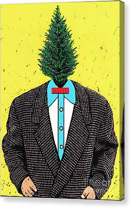 Tree Man Canvas Print