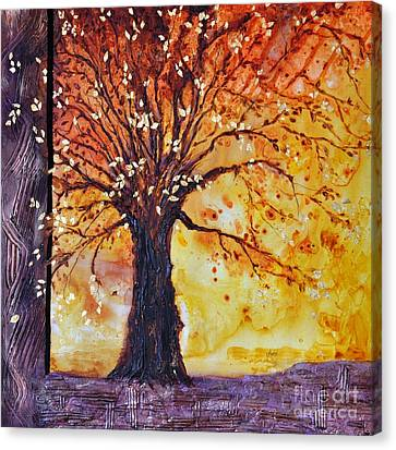 Tree Of Hope Life Love Canvas Print
