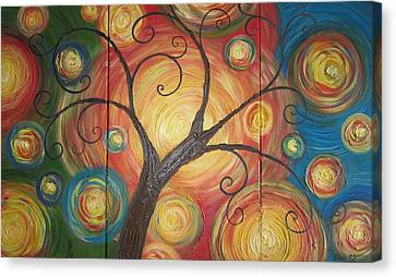 Tree Of Life  Canvas Print by Ema Dolinar Lovsin