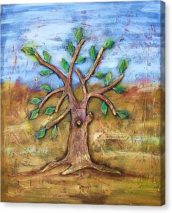 Tree Of Life Canvas Print by Junior Polo