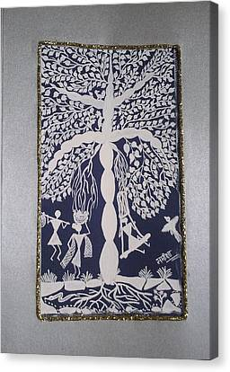 Tree Of Life Canvas Print by Samiksha Jain