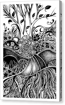 Tree Series 44 Canvas Print