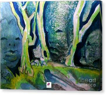 Tree Spirit Study Canvas Print