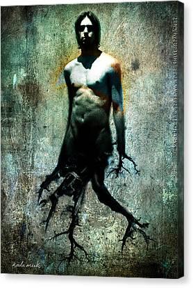Tree Walker Canvas Print