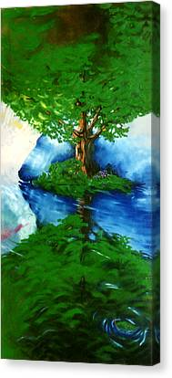 Trees Canvas Print by Douglas Martin