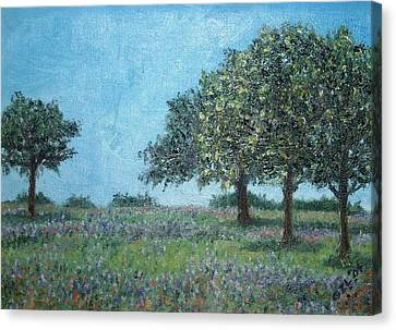 Trees Canvas Print by Gizelle Perez