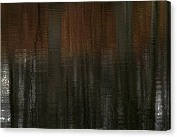 Reflecting Water Canvas Print - Trees Of April by Karol Livote