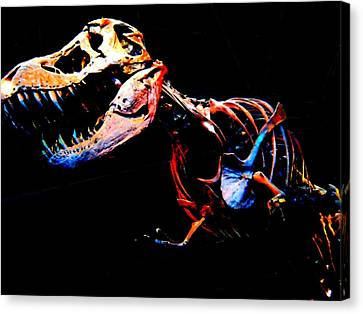 Trex Canvas Print by Howard Perry