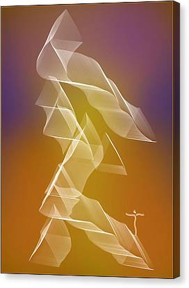 Canvas Print featuring the digital art . by James Lanigan Thompson MFA