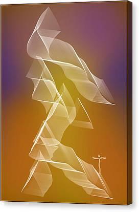 Canvas Print featuring the digital art . by James Lanigan Thompson MFA