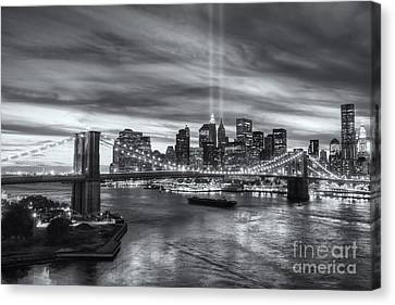 Tribute In Light V Canvas Print by Clarence Holmes