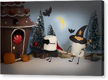 Trick Or Treat Canvas Print by Heather Applegate