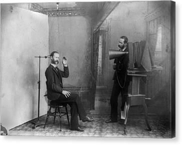 Trick Photograph, Original Title Canvas Print by Everett