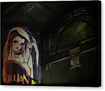 Trillian - Manga Store In Budapest Canvas Print by Marianna Mills