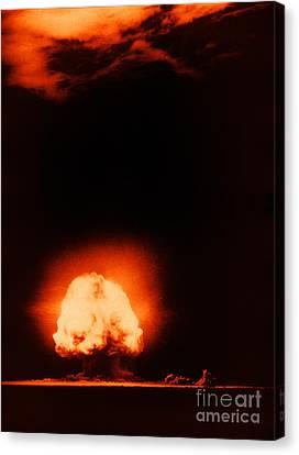 Trinity Test Explosion, 1945 Canvas Print