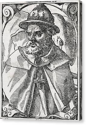 Tristao Da Cunha, Portuguese Explorer Canvas Print by Middle Temple Library