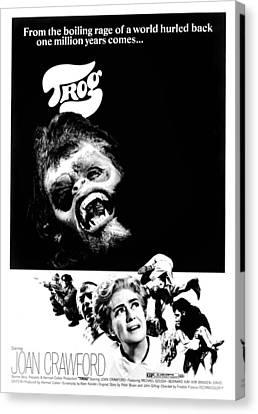 Trog, Joe Cornelius, Joan Crawford, 1970 Canvas Print by Everett