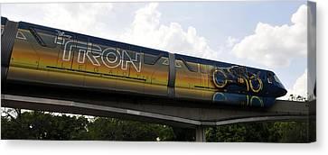 Tron Canvas Print - Tron Legacy 2010 by David Lee Thompson