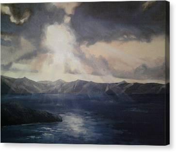 Tropical Dawn Canvas Print by Paul Morgan
