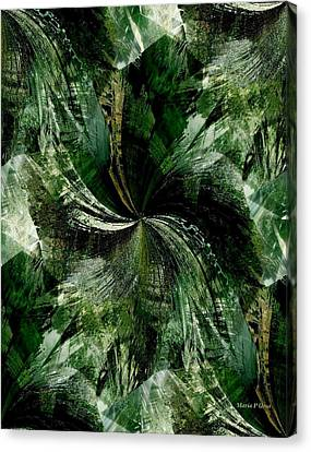Tropical Rain Forest Canvas Print