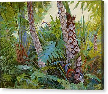 Tropical Underwood Canvas Print