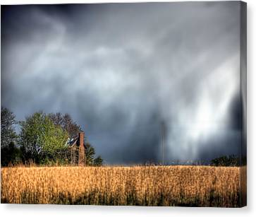 Trouble Brewing  Canvas Print by JC Findley