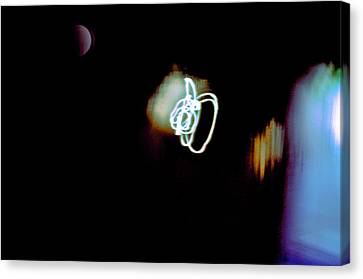 Inner Reality Canvas Print - Troubled Moon by Henry Rowland