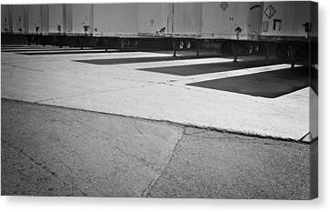 Truck Lines Canvas Print by Tom Bush IV