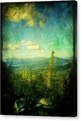 Truckee Trails Canvas Print