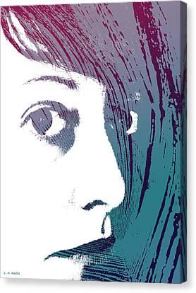 Canvas Print featuring the photograph True Colors by Lauren Radke