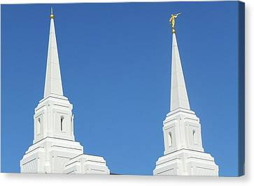 Trumpeting The Arrival Of The Lord Canvas Print by Gary Baird
