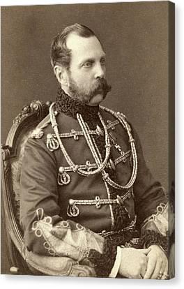 Tsar Alexander II 1818-1881, Emperor Canvas Print