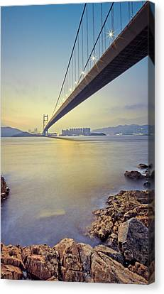 Tsing Ma Bridge Canvas Print by Andi Andreas
