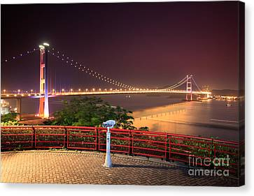 Tsing Ma Bridge Canvas Print by MotHaiBaPhoto Prints