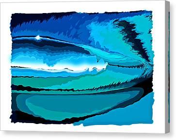 Tim Canvas Print - Tube Time by Tim Foley