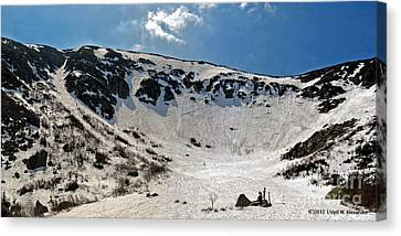 Tuckermans Ravine Canvas Print