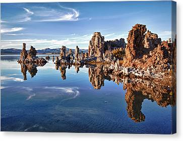 Tufas At Mono Lake Canvas Print by Mimi Ditchie Photography